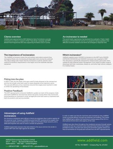Ebola attacks Africa Case Study