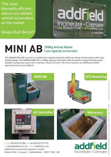 Mini AB - Animal Incinerator