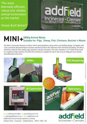 Mini Plus - Animal Incinerator