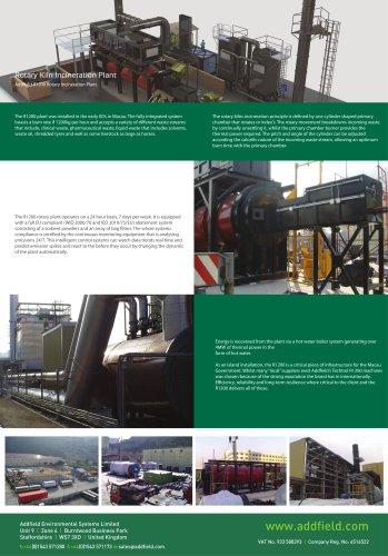 Rotary Kiln Incineration Plant Case Study