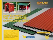 Elyonda XLT - The corrugated sheet