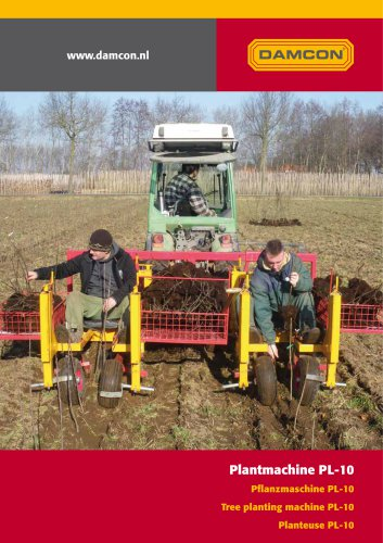 tree planting machine PL-10
