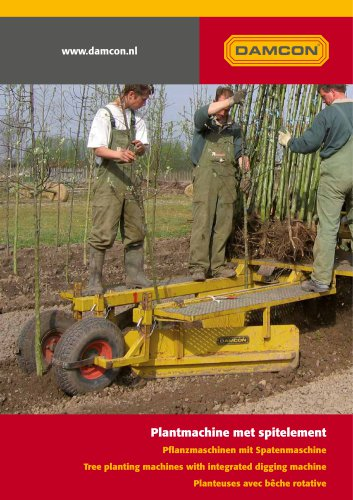 tree planting machines PL-30 till PL-90