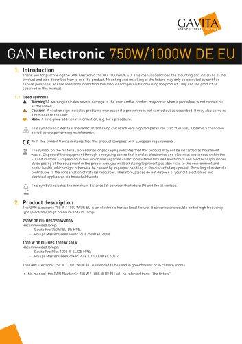 GAN Electronic 750W