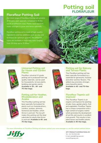 Potting soil FLORAFLEUR