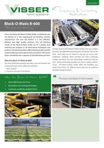 Block-O-Matic B-600