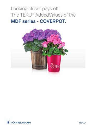 TEKU® CoverPot MDF