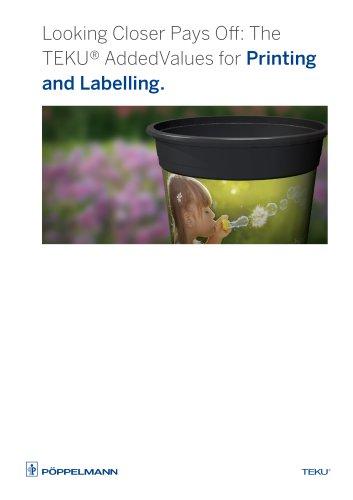 TEKU® Printing and Labeling