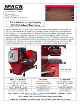 Pack Manufacturing Company PM110SD Deluxe Filling System - 1