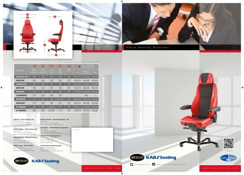 New English Office Seat Brochure