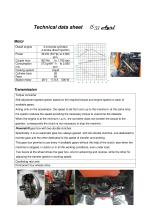 Technical data sheet IS 53 Agri