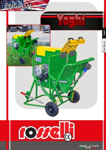 Circular saw for gardening cutting of branches and trunks - Yoghi M T - Rosselli Snc
