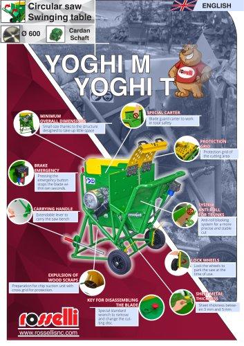 Economic circular saw for wood Yoghi 600 M/T - Rosselli Snc