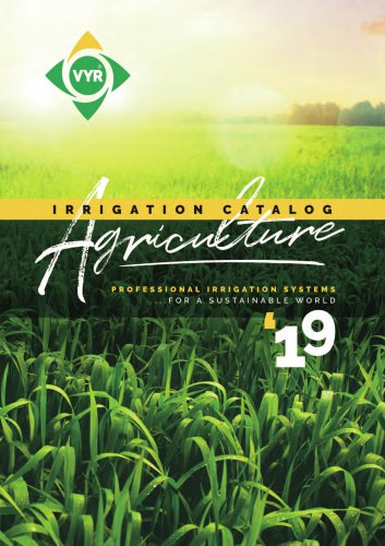 Agriculture Irrigation 2019