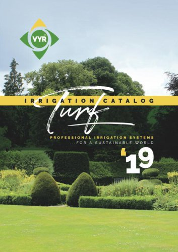Turf irrigation 2019
