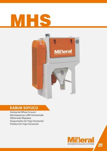 MHS - Horizontal Wheat Scourer