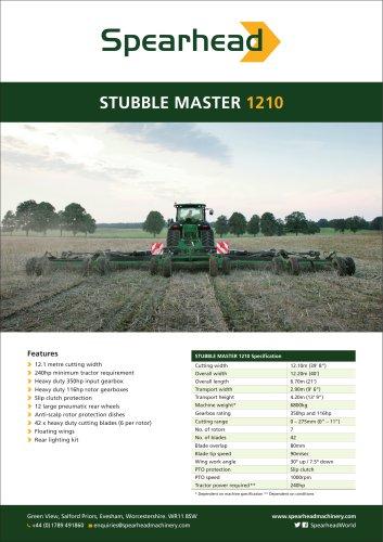 Stubble Master 1210