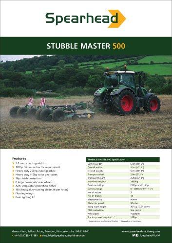 Stubble Master 500