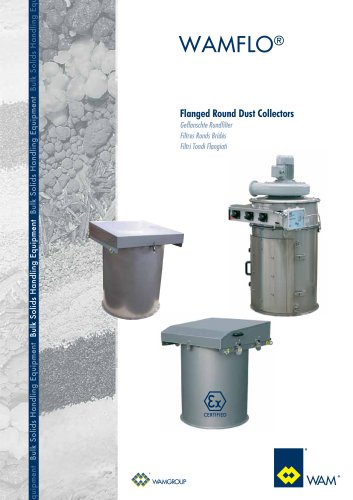 Flanged Round Dust Collectors