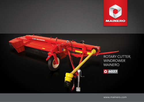 ROTARY CUTTER WINDROWER 6027