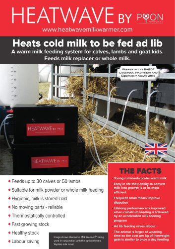 HEATWAVE MILK WARMER™