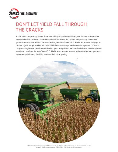 360 YIELD SAVER Sell