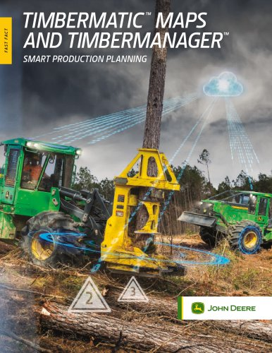 TIMBERMATIC™  MAPS AND TIMBERMANAGER™
