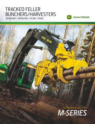 Tracked Feller Bunchers/Harvesters