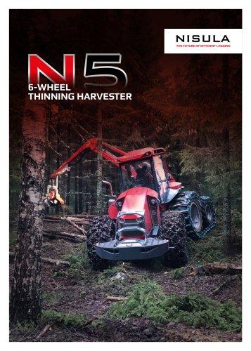 N5 6-WHEEL THINNING HARVESTER
