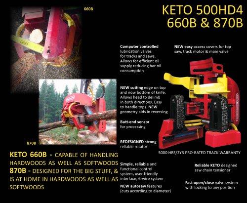 KETO 500HD4 660B & 870B