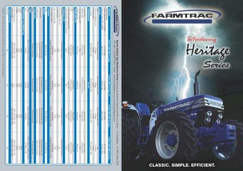 Farmtrac 6050 - FARMTRAC TRACTORS EUROPE - PDF Catalogs | Technical