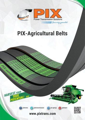 PIX Agricultural Belts Catalogue