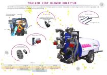 Mist blowers Multitub - 2