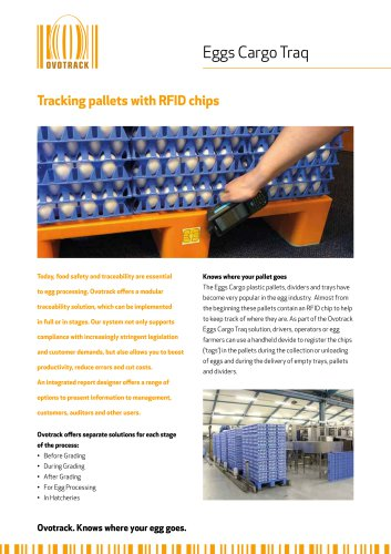OvoTrack RFID Traq Tracking pallets with RFID chips