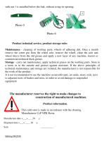 Manual cultivator KR -1 - 4