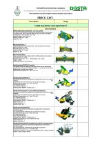 Rosta catalogue seeders and planters - 1