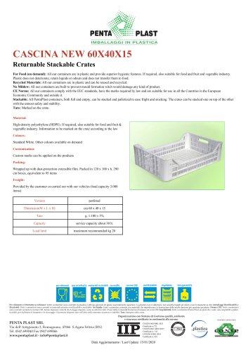 CASCINA NEW 60X40X15
