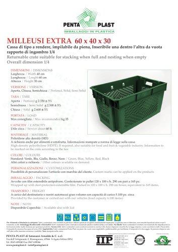 MILLEUSI EXTRA 60 x 40 x 30