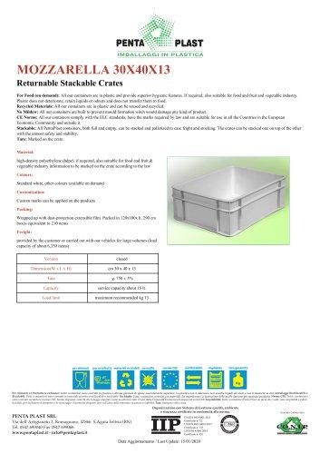MOZZARELLA 30X40X13