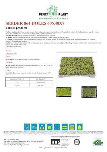 SEEDER 864 HOLES