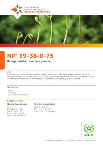 NP+  19-38-0-7S