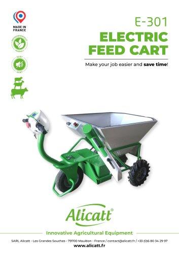 electric feed cart E-301