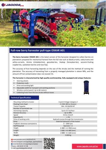 Berry Harvester OSKAR A01