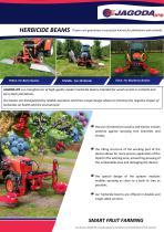 TOLA herbicide beam sprayer for blueberries - 1