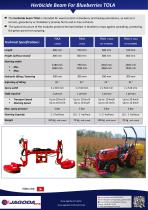 TOLA herbicide beam sprayer for blueberries - 3