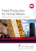 Feed production for Home Mixers : Add value to your raw materials