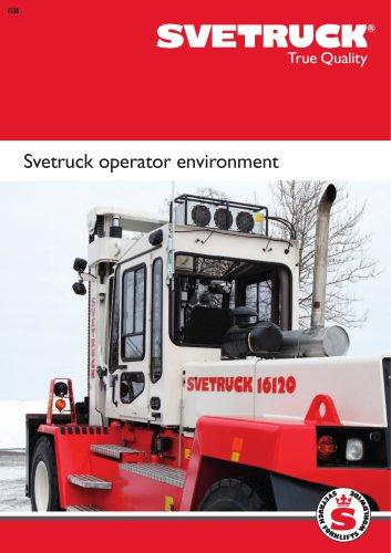 Svetruck operator environment