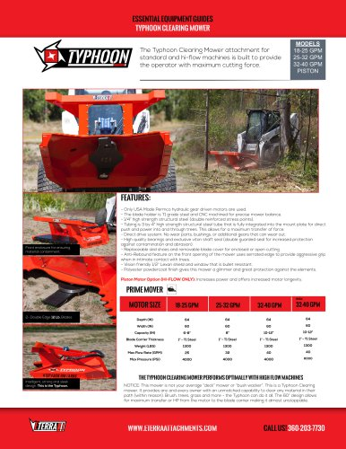 Typhoon Clearing Mower