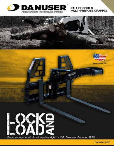 Pallet Forks & Multi-Purpose Grapple Brochure