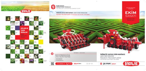 PNEUMATIC PRECISION PLANTER (FOR VEGETABLES AND FOR SMALL SEED SOWING)